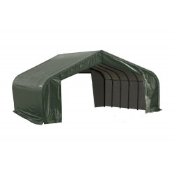ShelterLogic 22x28x13 Peak Style Shelter, Green (82244)