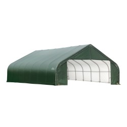 ShelterLogic 28x24x20 Peak Style Shelter Kit - Green (86067)