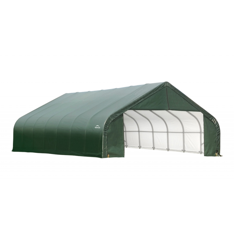 Shelter Logic 28x24x20 Peak Style Shelter Kit - Green (86067)