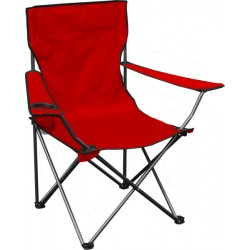 Quik Shade Folding Chair - Red (146115DS)