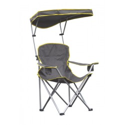 Quik Shade Heavy Duty Max Shade Folding Chair - Gray (161636DS)