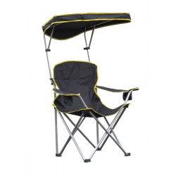 Quik Shade Heavy Duty Max Shade Folding Chair - Black (167571DS)