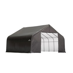 Shelter Logic 30x20x16 Peak Style Shelter, Grey (86043)