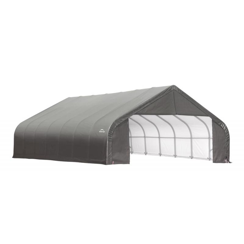 ShelterLogic 28x24x20 Peak Style Shelter Kit - Grey (86066)