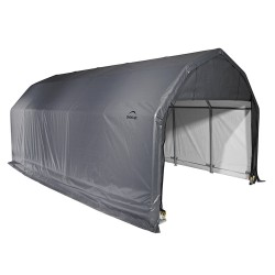 Shelter Logic 12x20x9 Barn Shelter, Grey (97053)