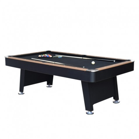 Hathaway 7ft Stafford Pool Table with Table Tennis Top, Air Hockey Top and Cue Rack (BG50349)