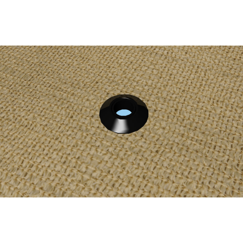 Shelter Logic Shade Cloth Plastic Snap Grommets - Polybag (25661)