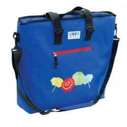 Rio Gear Deluxe Insulated Cooler Beach Bag - Solid Blue (CT777-46-1)