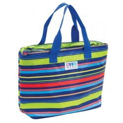 Rio Gear Insulated Cooler Beach Bag - Stripe (CT781-1801-1)