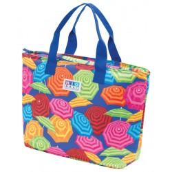 Rio Gear Insulated Cooler Beach Bag - Umbrella Print (CT781-900-1)