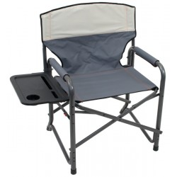 Rio Gear Broadback XXL Camp Folding Chair - Slate and Putty (GRDR400-434-1)