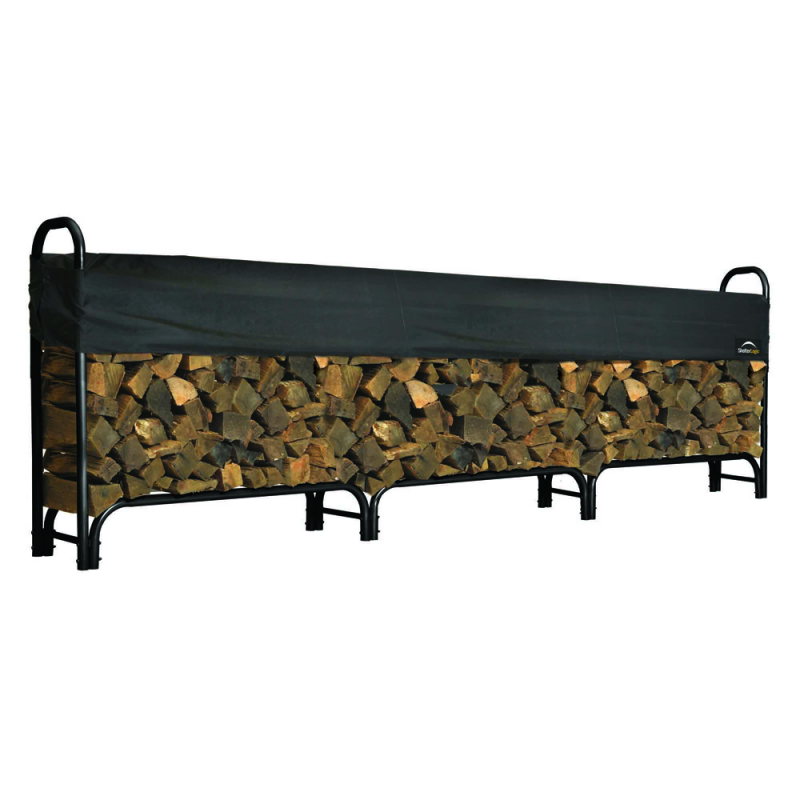 Shelter Logic 12 ft Heavy Duty Firewood Rack Cover (90403)