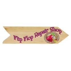 Margaritaville Directional Garden Sign - Flipflop Repair Shop (PSSA23-MV-1)
