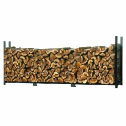 ShelterLogic 12 ft Ultra Duty Firewood Rack Cover (90473)