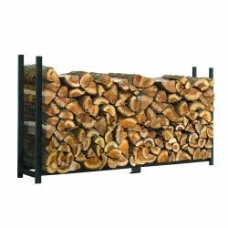 Shelter Logic 8 ft Ultra Duty Firewood Rack Cover (90472)
