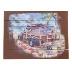 Margaritaville Wall Art - Surf Truck (PSSR22-MV-1)