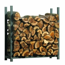 ShelterLogic 4 ft Ultra Duty Firewood Rack Cover (90471)
