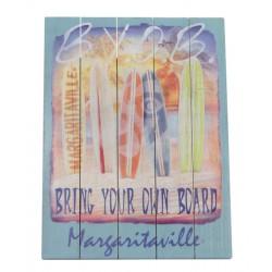 Margaritaville Wall Art - Bring Your Own Board (PSSR24-MV-1)
