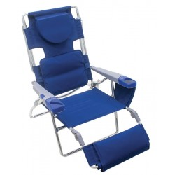 Rio Read Through Lounger - Blue (SC572-46-1)