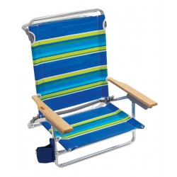Rio Beach Classic 5-Position Layflat Folding Chair - Multicolor (SC592-2005-1)
