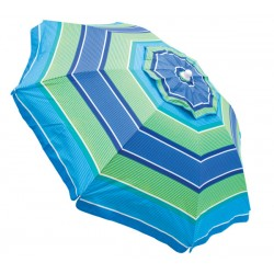 Rio 6ft Beach Umbrella with Integrated Sand Anchor (UB79-1905-1)