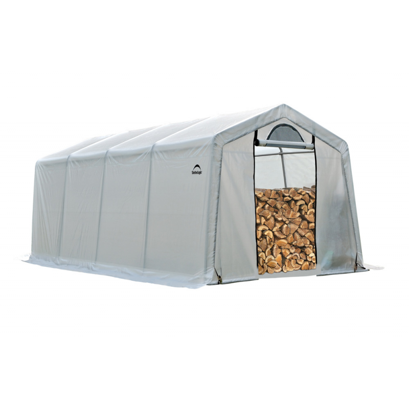 Shelter Logic 10 x 20 x 8 Seasoning Shed (90397)