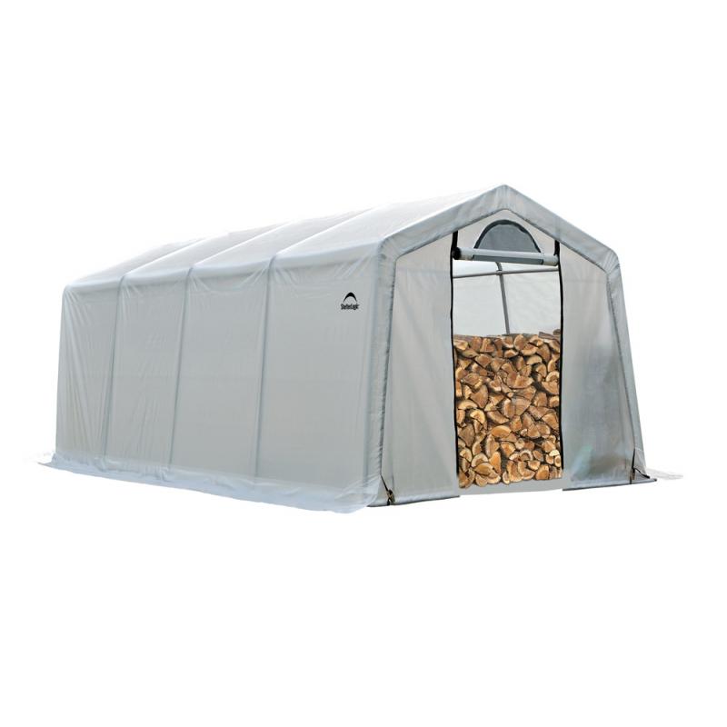 ShelterLogic 10 x 20 x 8 Seasoning Shed (90397)