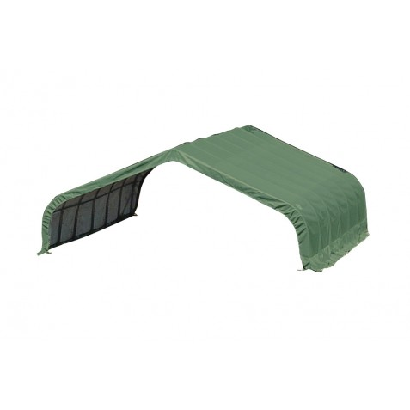 Shelter Logic 22x20x10 Peak Style Storage - Green (58432)