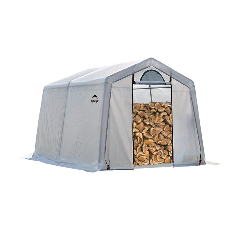 Shelter Logic 10 x 10 x 8 Seasoning Shed (90396)