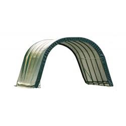 Shelter Logic 12x20x8 Round Style - Green (51341)