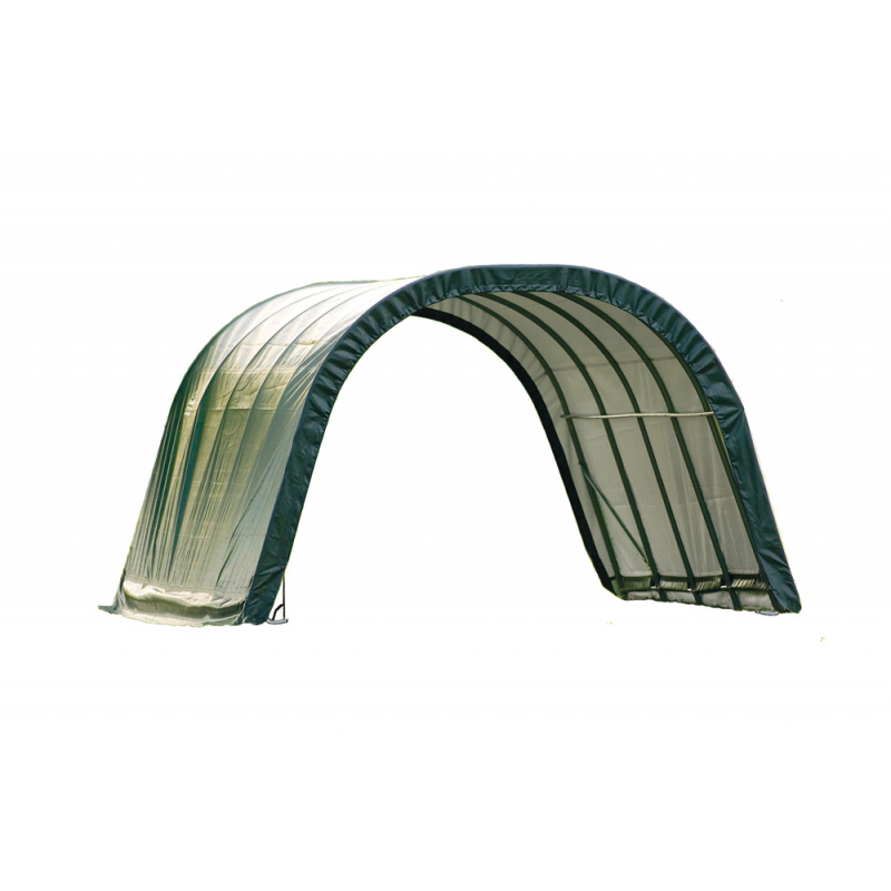 Shelter Logic 12x20x8 Round Style - Green (51341)