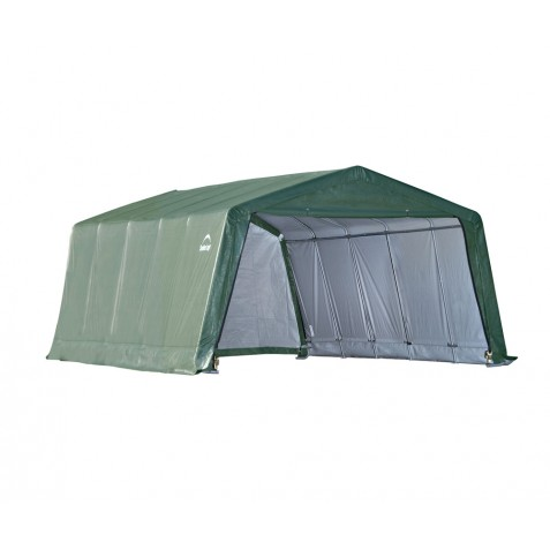 Shelter Logic 12x20x8 Peak Style Storage - Green (71534)