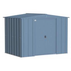 Arrow Classic 8x6 Steel Storage Shed Kit - Blue Grey (CLG86BG)