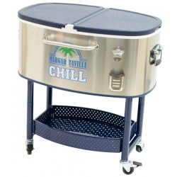 Margaritaville Rolling Party Stainless Steel Cooler (RC200SSMV-09-1)