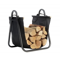 Shelter Logic Log Holder with Canvas Carrier (90391)