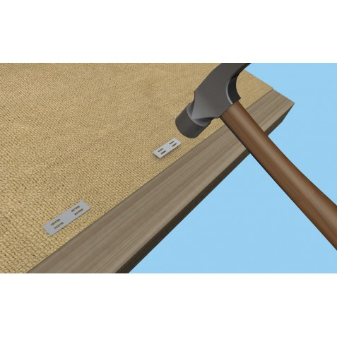 Shelter Logic Shade Cloth Wood Fasteners - Polybag (25663)
