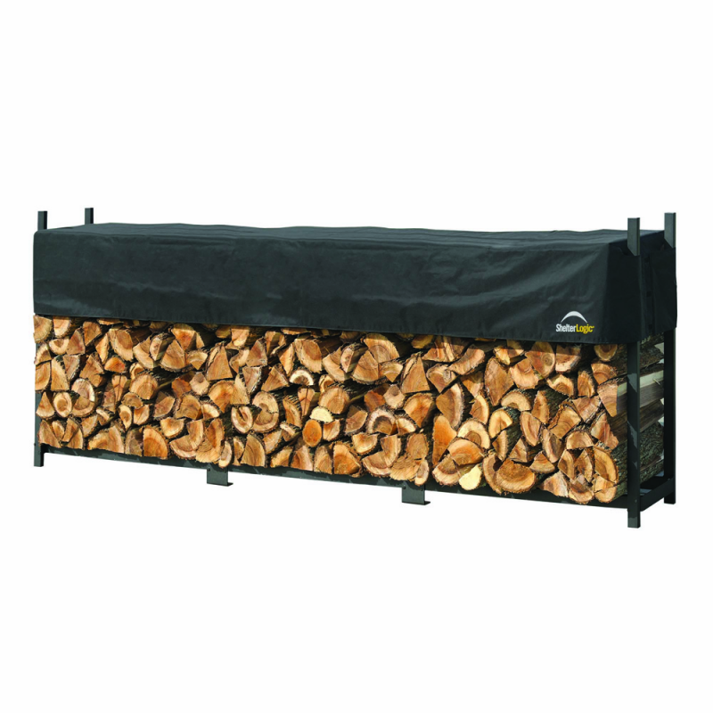 Shelter Logic 12 ft Ultra Duty Firewood Rack Cover (90476)
