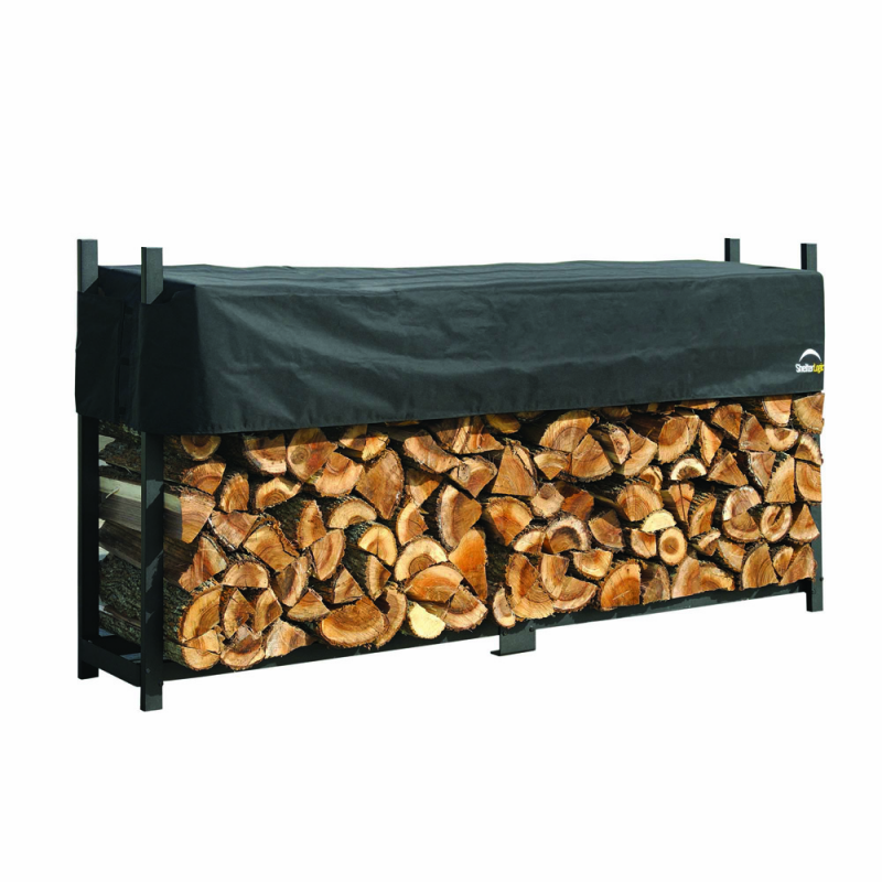 ShelterLogic 8 ft Ultra Duty Firewood Rack Cover (90475)