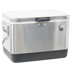 Rio 54 Quart Stainless Cooler (TC54SS-1)