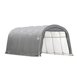 Shelter Logic 12x20x8 ft Round Style Shelter - Grey (62780)