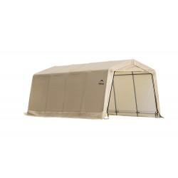 ShelterLogic 10X20 Auto Shelter Peak Style Frame - Sandstone (62680)