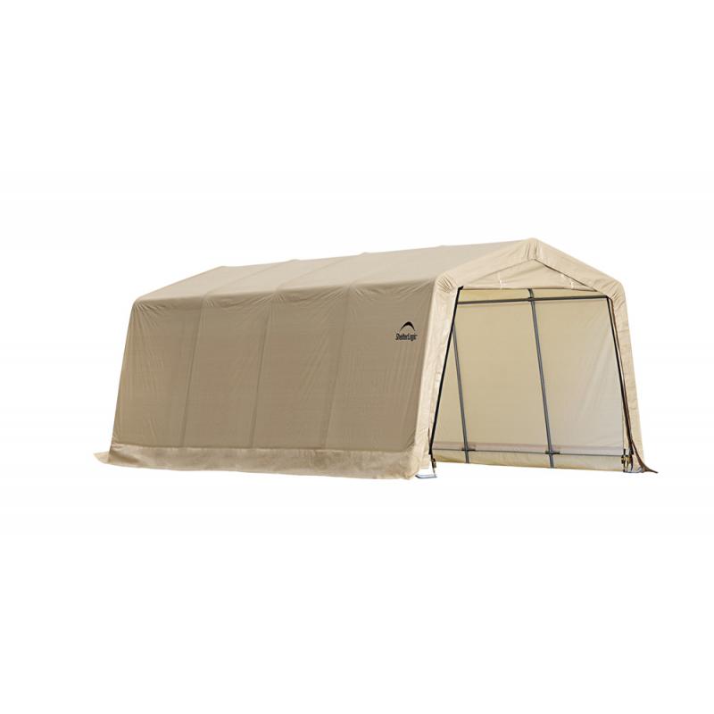 Shelter Logic 10X20 Auto Shelter Peak Style Frame - Sandstone (62680)