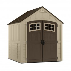 Suncast 7x7 Sutton Storage Shed Kit - Sand (BMS7791)