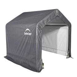 Shelter Logic 6x6x6 Peak Style Storage Shed - Grey (70401)