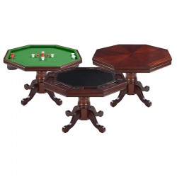 Walnut Poker Table Only (NG2366T)