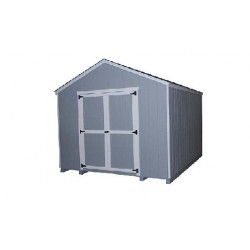 Little Cottage Co. Gable 10x12 Wood Storage Shed Kit (10x12 VGS-WPC)
