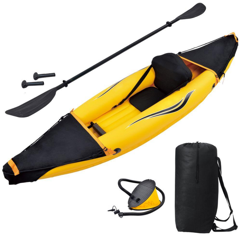 Blue Wave Nomad 1 Person Inflatable Kayak (RL3601)