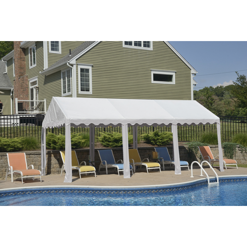 Shelter Logic 10x20 Party Tent  - White (25887)