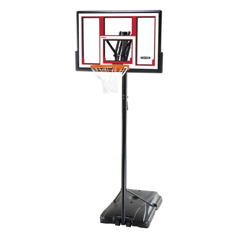 Lifetime 48-inch Adjustable Portable Basketball Hoop (90491)