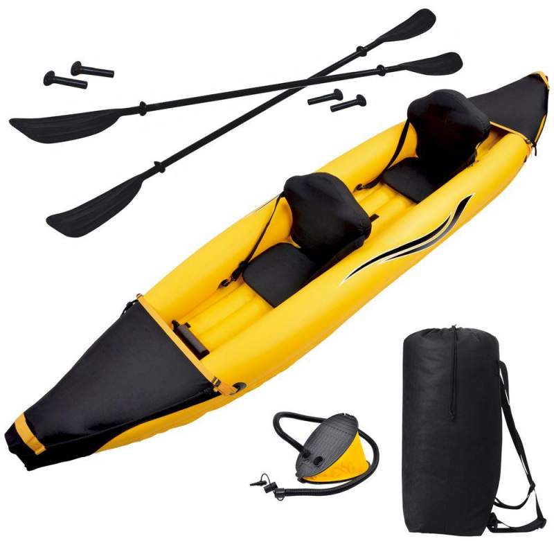 Blue Wave Nomad 2 Person Inflatable Kayak (RL3602)